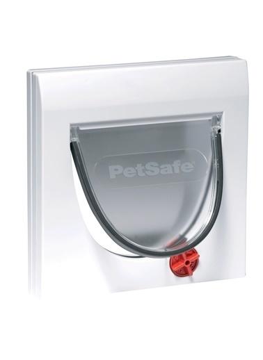 PETSAFE Petsafe Klasik 919 Ef Manuel 4 Yönlü Kilitli Kapı Beyaz Beyaz